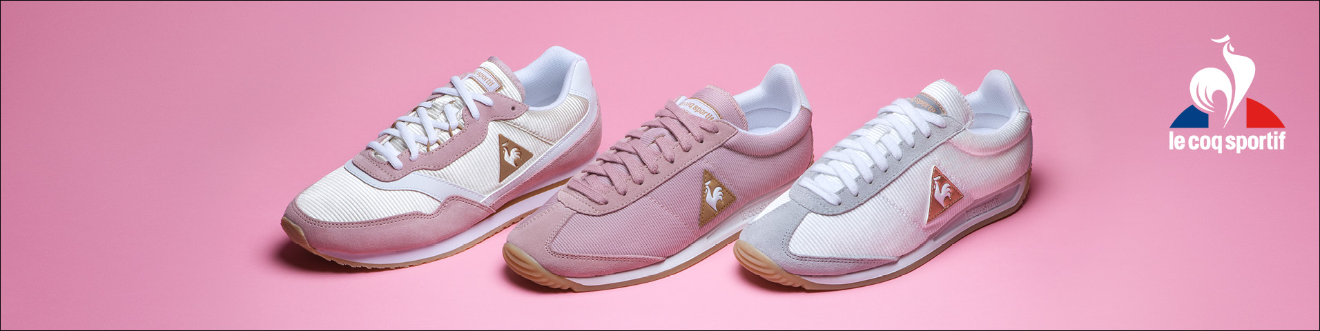 Basket Le Coq Sportif Rose Gold