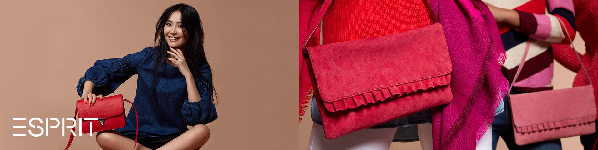 568e831801513 Silberne Esprit Taschen   Koffer für Damen online shoppen