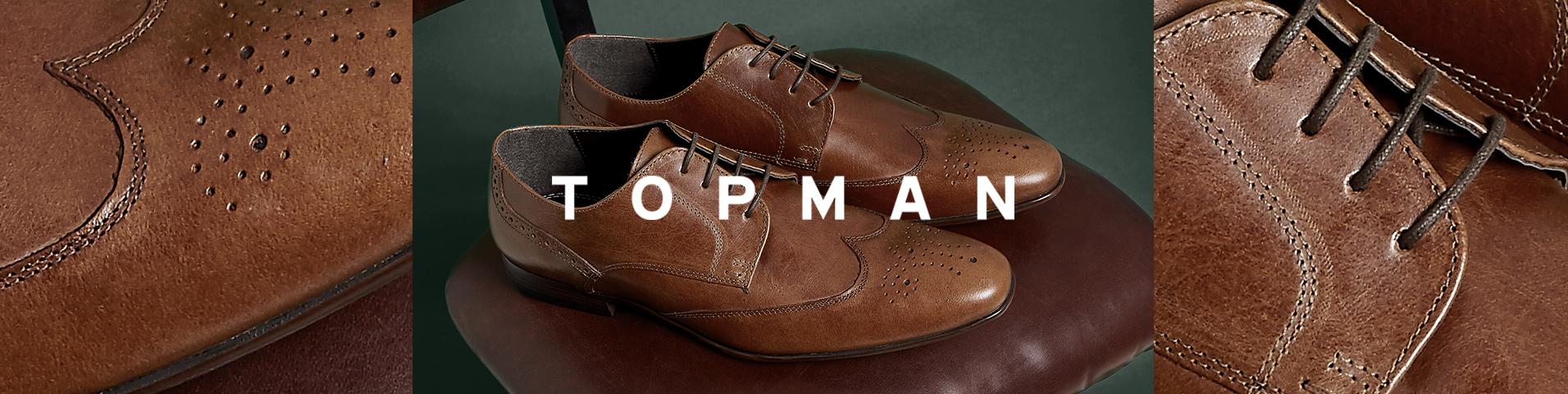 Chaussures homme Topman marron | Large choix en ligne sur