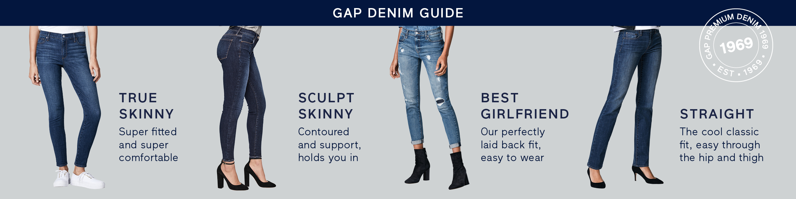 89053be4ea3 Jeans Femme GAP